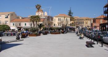 Alghero (Sardegna), Sardinia (Italy), piazza Sulis2