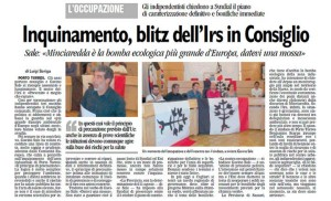 La Nuova Sardegna 4/10/2011