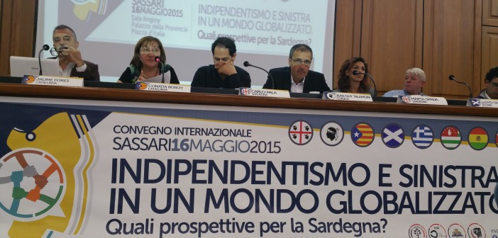 intervento di Jaume Fores - Membro dell'ass. Catalunya Sicilia e del Consiglio Nazionale di ERC