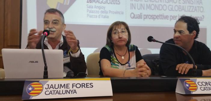 Jaume Fores - Membro dell'ass. Catalunya Sicilia e del Consiglio Nazionale di ERC