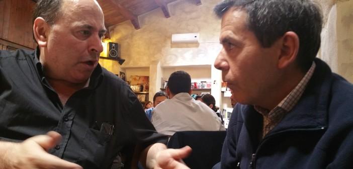 Jordi Mirò Presidente di Estat Català e Pietro Simon Mossa