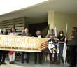 manifestazione di solidarietà al presidente Puigdemont (foto marcellosaba.com)