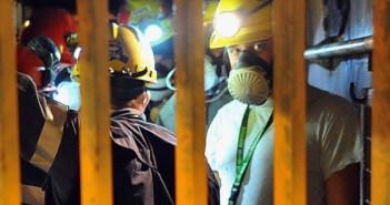 La protesta dei minatori del Sulcis a 400 metri sottoterra