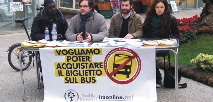 iRS - conf stampa biglietti sul bus