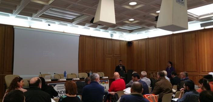 Roberto Senes apre i lavori e presenta il programma della giornata
