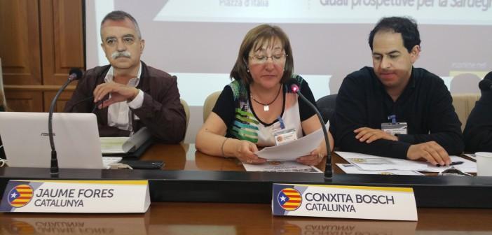 intervento di Conxita Bosch - Esecutivo Nazionale di Solidaritat Catalana per la independencia e responsabile relazioni internazionali