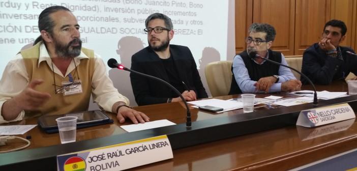 intervento di Raúl García Linera - Analista politico Boliviano e membro del Movimento per il Socialismo