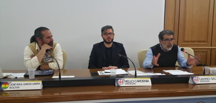 intervento di Gavino Sale deputato al Parlamento sardo e Presidente di iRS - indipendentzia Repubrica de Sardigna